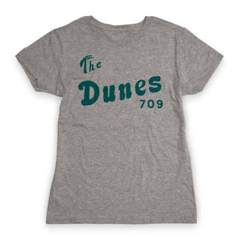The Dunes Vintage Womens T-Shirt