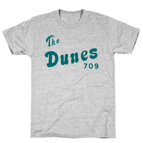 The Dunes Vintage Mens T-Shirt