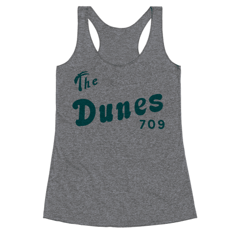 The Dunes Vintage Racerback Tank Top