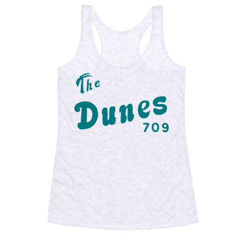 The Dunes Vintage Racerback Tank Top