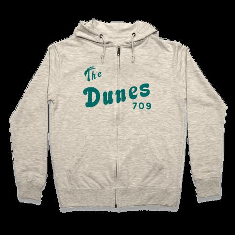 The Dunes Vintage Zip Hoodie