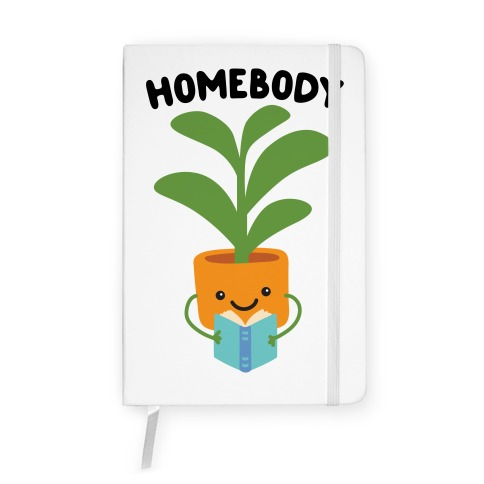 Homebody Reading Plant Notebook