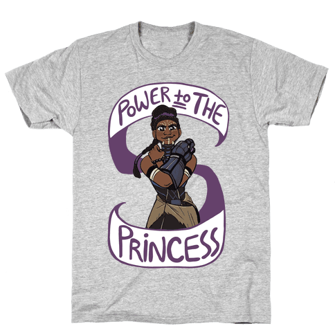 Power to the Princess Mens T-Shirt