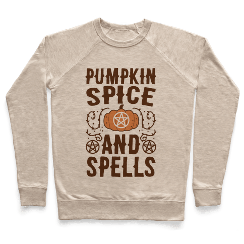 Pumpkin Spice and Spells Pullover