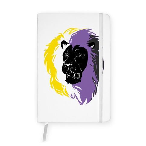Non-binary Lion Pride Notebook