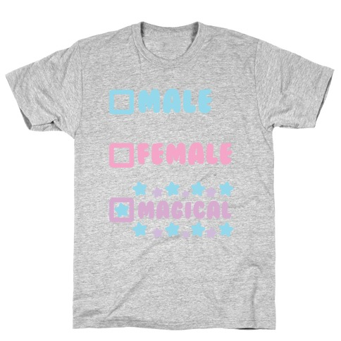 Magical Gender Checklist T-Shirt