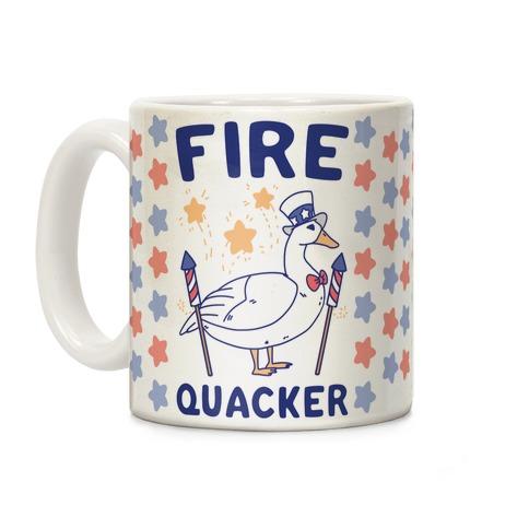 Fire Quacker Coffee Mug