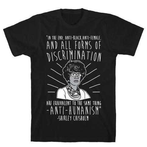Shirley Chisholm White Print T-Shirt