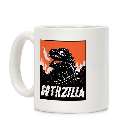 Gothzilla Goth Godzilla Coffee Mug