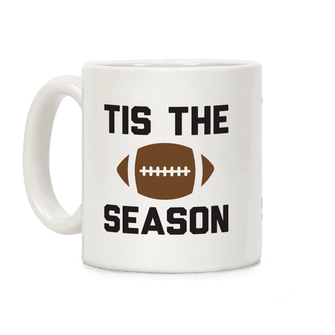 Tis The Football Season Coffee Mug