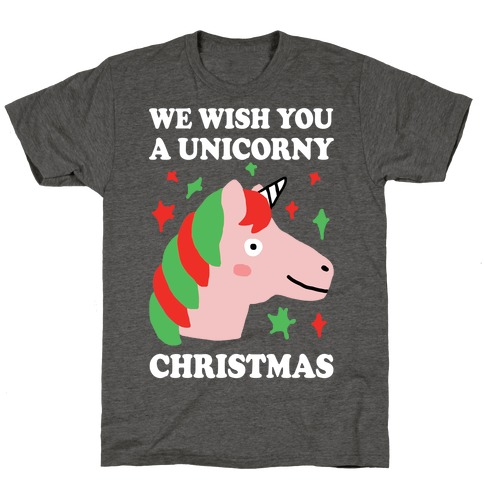 We Wish You A Unicorny Christmas T-Shirt
