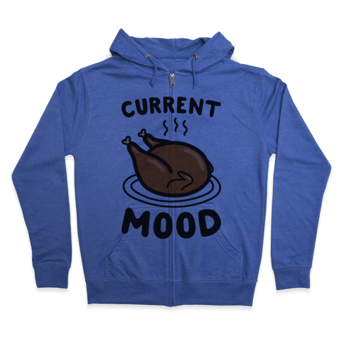 Current Mood Turkey Zip Hoodie