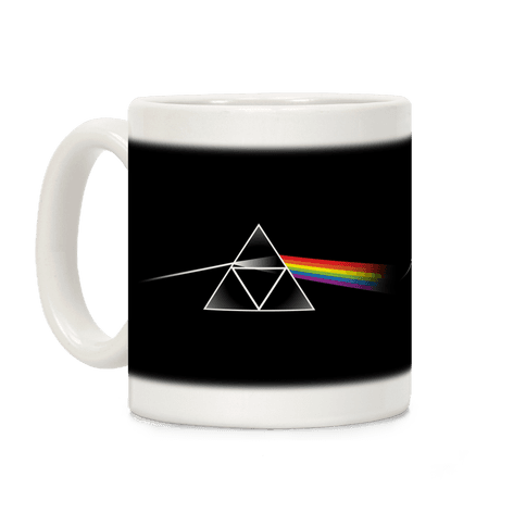 Dark Side Of The Triforce Coffee Mug