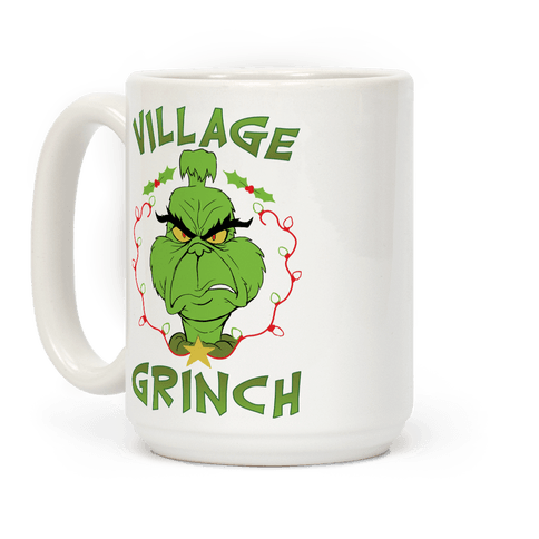Village Grinch Coffee Mug