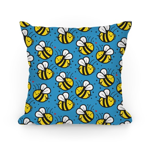 Bee Booties Pillow