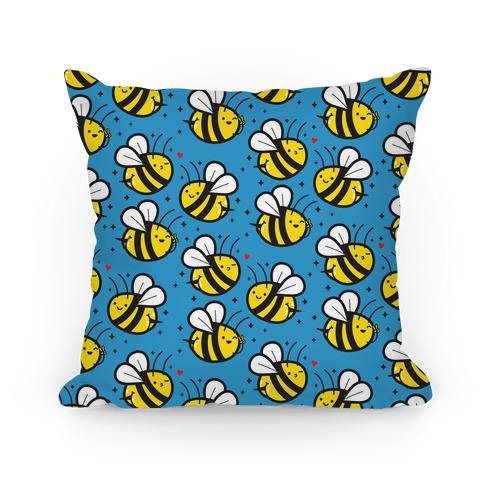 Bee Booties Pillow