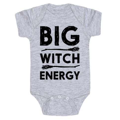Big Witch Energy Baby Onesy