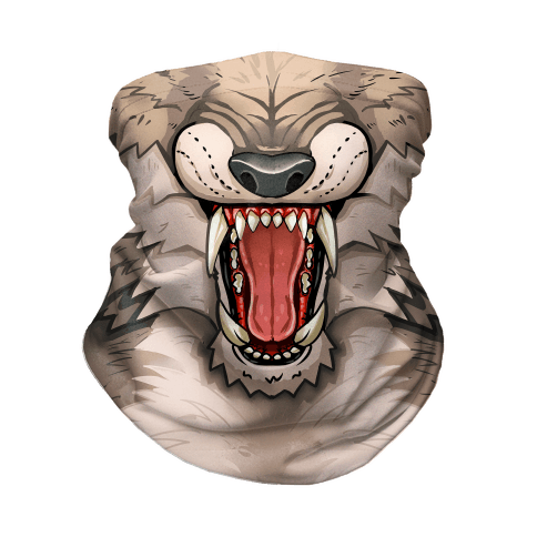 Werewolf Mouth Neck Gaiter