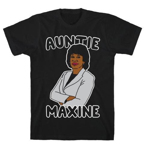 Auntie Maxine White Print T-Shirt
