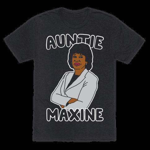 Auntie Maxine White Print