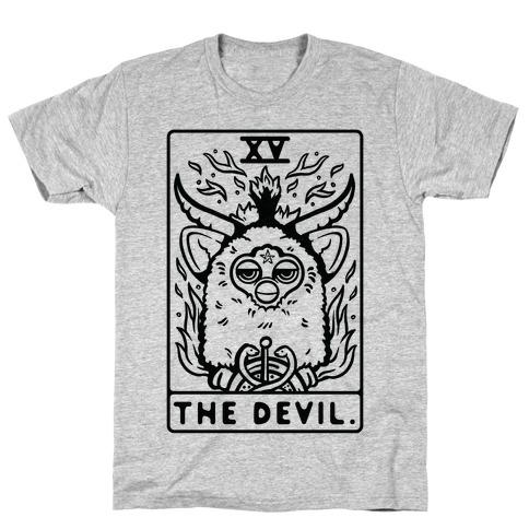 The Devil Tarot Card Furby T-Shirt