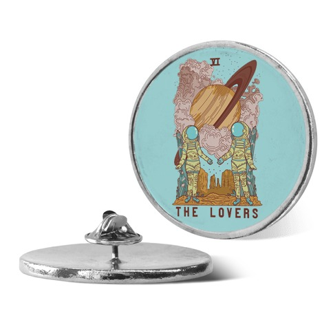 The Lovers in Space Pin