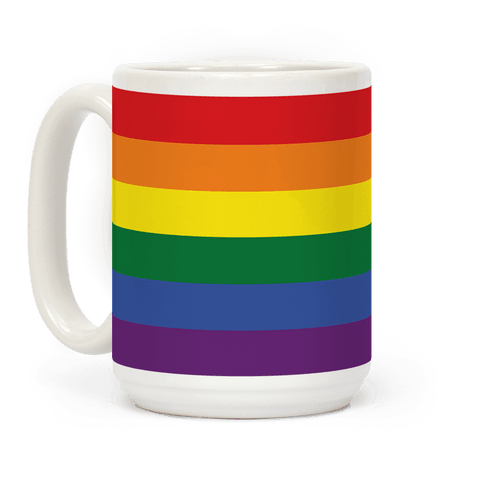Gay Pride Flag Coffee Mug
