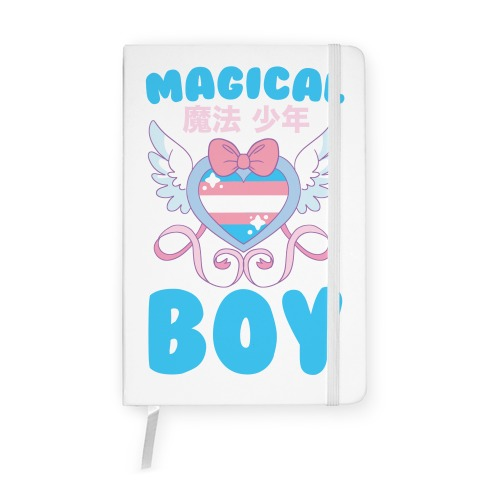 Magical Boy - Trans Pride Notebook