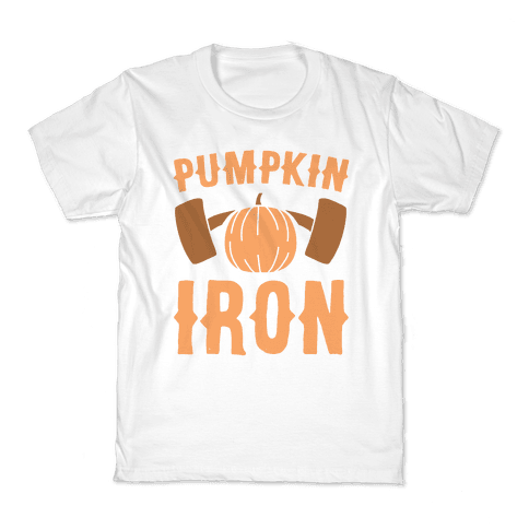 Pumpkin Iron Kids T-Shirt