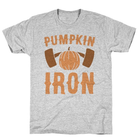 Pumpkin Iron T-Shirt