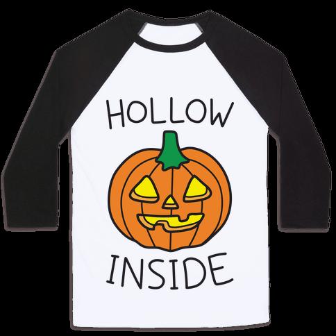 Hollow Inside Baseball Tee