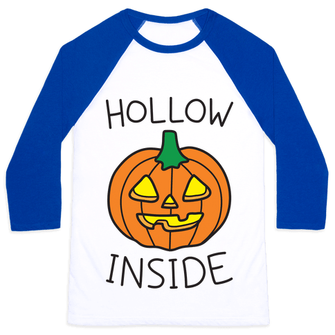 Hollow Inside Baseball Tee
