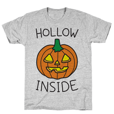 Hollow Inside Mens T-Shirt