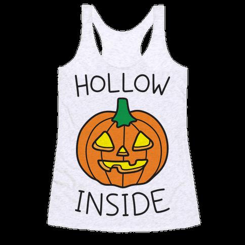 Hollow Inside Racerback Tank Top
