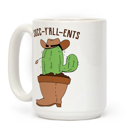Succ-y'all-ents Coffee Mug