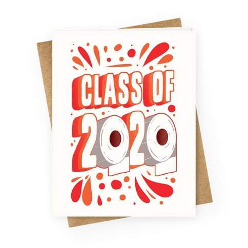Class of 2020 Greeting Card