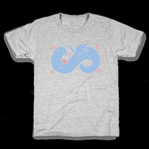 Infinity Otter  Kids T-Shirt