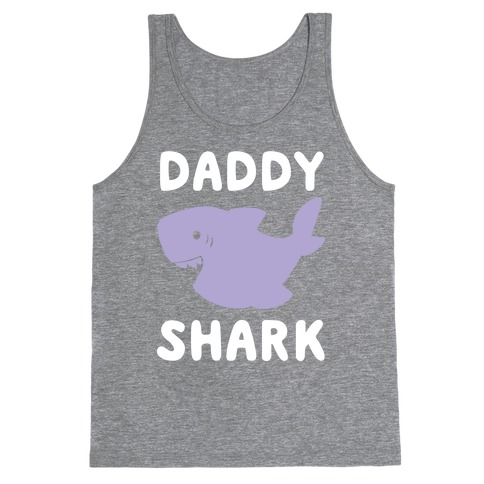 Daddy Shark (1 of 5 set) Tank Top