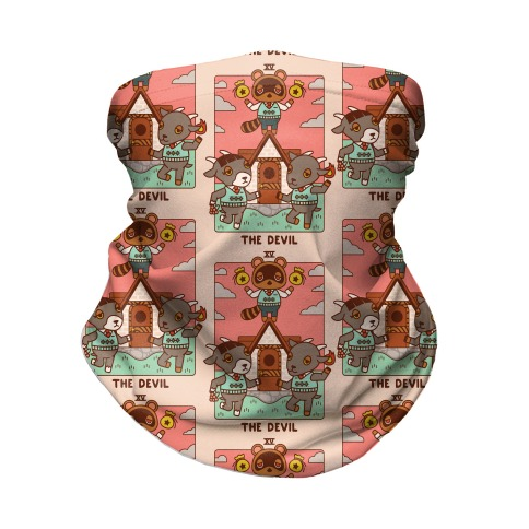 The Devil Tom Nook Neck Gaiter