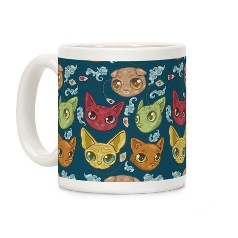 Tea Cats Coffee Mug