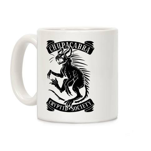 Chupacabra Cryptid Society Coffee Mug
