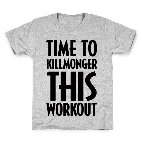 Time To Killmonger This Workout Kids T-Shirt