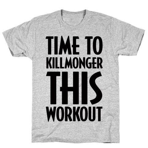 Time To Killmonger This Workout Mens T-Shirt