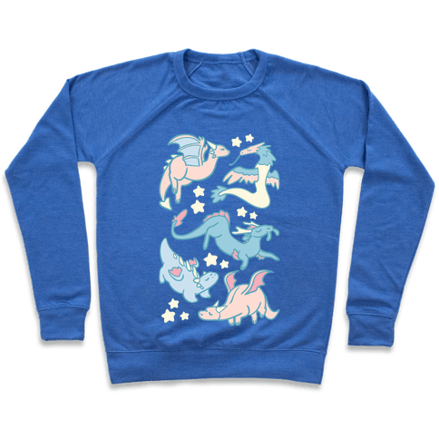 Dreamy Dragon Pattern Pullover