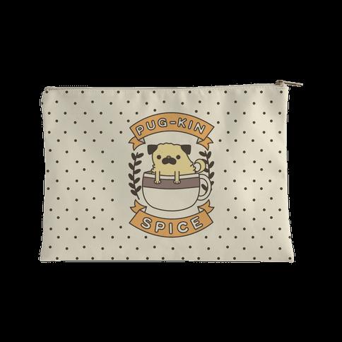 Pug-kin Spice Accessory Bag
