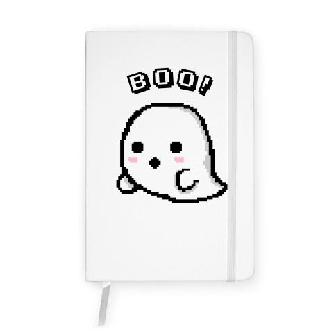 Pixel Ghost Notebook