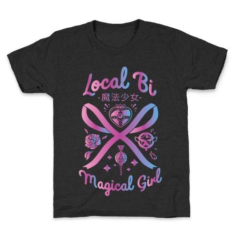 Local Bi Magical Girl Kids T-Shirt