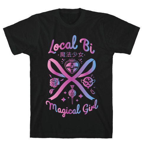 Local Bi Magical Girl Mens/Unisex T-Shirt