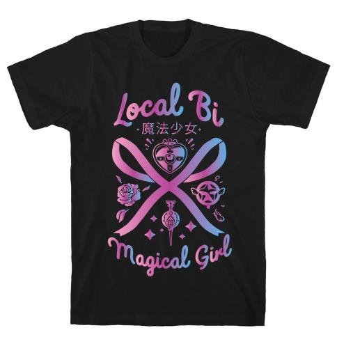Local Bi Magical Girl T-Shirt