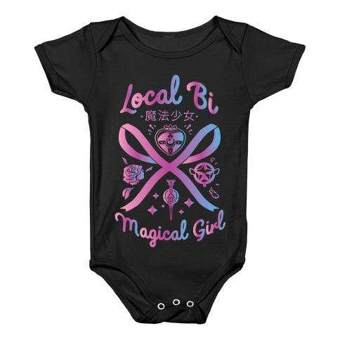 Local Bi Magical Girl Baby Onesy